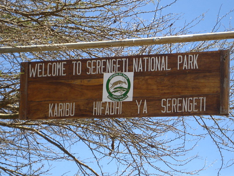 File:Serengeti-Sign.jpg